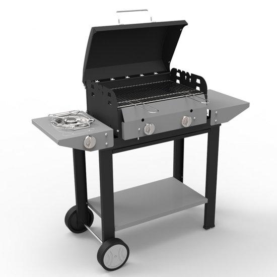 Barbecue A Gas E Pietra Lavica Vulcano