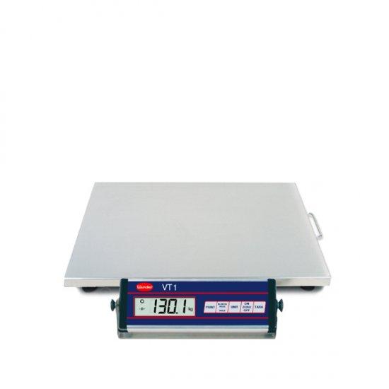Bilancia Vt1 60150 Kg Inox Interamente In Acciaio Inox Portata 150 Kg