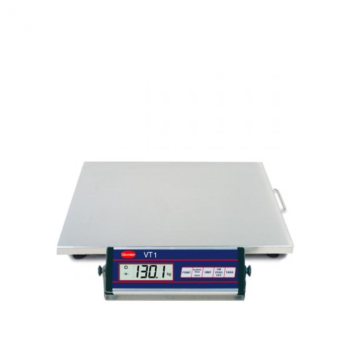 Bilancia VT1 INOX interamente in acciaio inox - Portata 150 Kg.