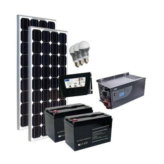 Offerte pazze Comparatore prezzi  Kit Fotovoltaico Completo Grid Free 200 230 V  il miglior prezzo