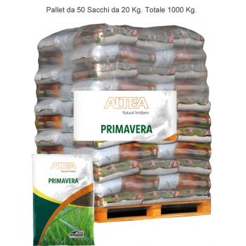 Bancale NATUR PRIMAVERA Concime azotato 18.4.3+2 Kg. 20