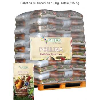 Bancale ALTEA Pollina Umificata Pellettata Kg. 25