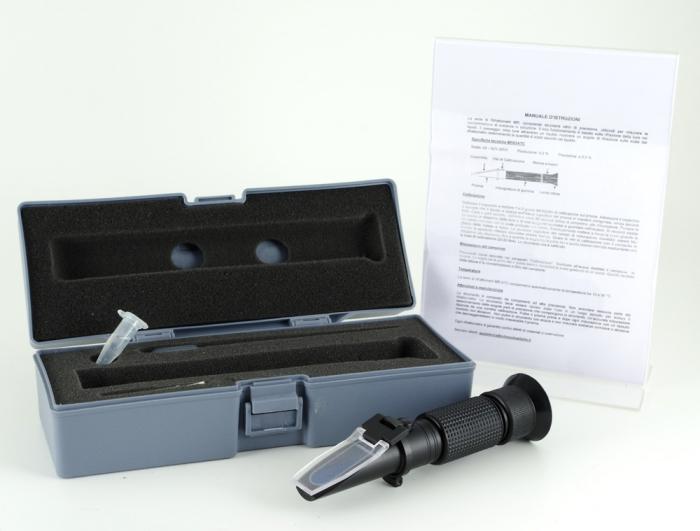 Rifrattometro ottico 28-62 Brix