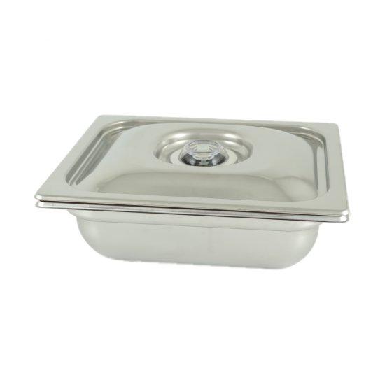 Vasca Inox H 150 12 Gastronorm Per Cottura Sottovuoto