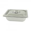 Vasca Inox H 150 1/2 Gastronorm per cottura Sottovuoto