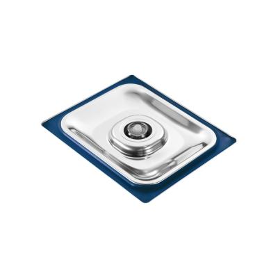 Coperchio Inox 1/1 Gastronorm per cottura Sottovuoto