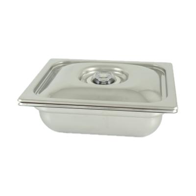 Vasca Inox H 100 1/1 Gastronorm per cottura Sottovuoto