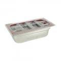 Vasca Inox H 150 1/3 Gastronorm e coperchio tritan