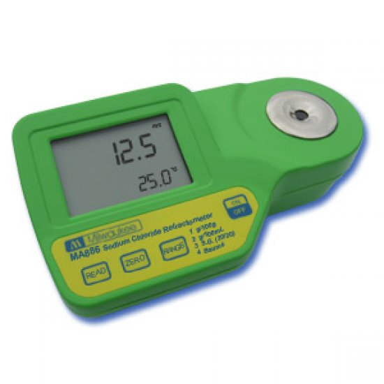 Offerte pazze Comparatore prezzi  Rifrattometro Digitale Per Misurazioni Di Cloruro Di Sodio Ma886  il miglior prezzo