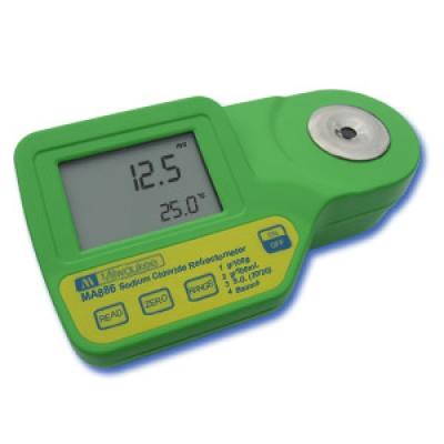 Rifrattometro digitale per misurazioni di Cloruro di Sodio MA886
