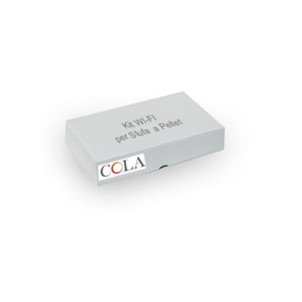 Kit Trasmettitore WI-FI+BT per Stufe a Pellet Cola + App (Darwin)