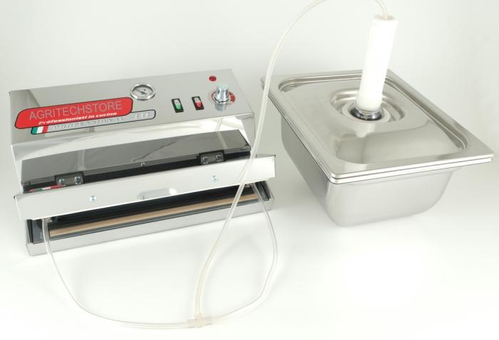 Sistema per cottura Sottovuoto S&W Vacuum Box Agritech Allhadin