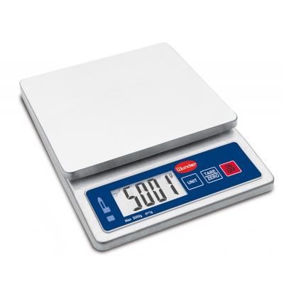 Bilancia Multiuso compatta Inox Portata 5 Kg.