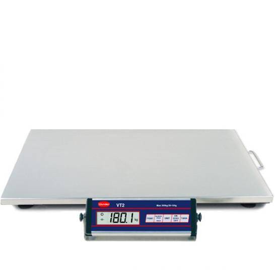 Offerte pazze Comparatore prezzi  Bilancia Vt2 150300 Kg Inox Interamente In Acciaio Inox Portata 300 Kg  il miglior prezzo