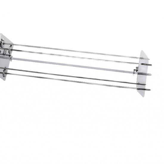 Raggiera Satellitare Per Girarrosto 4 Lance 70 Cm 0546asta