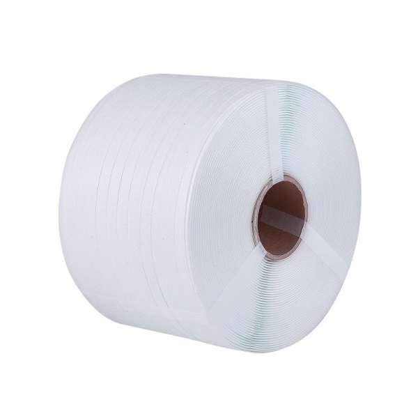 Reggia in Polipropilene PLP Colore Bianco mm. 9x0,6/C mt. 4000