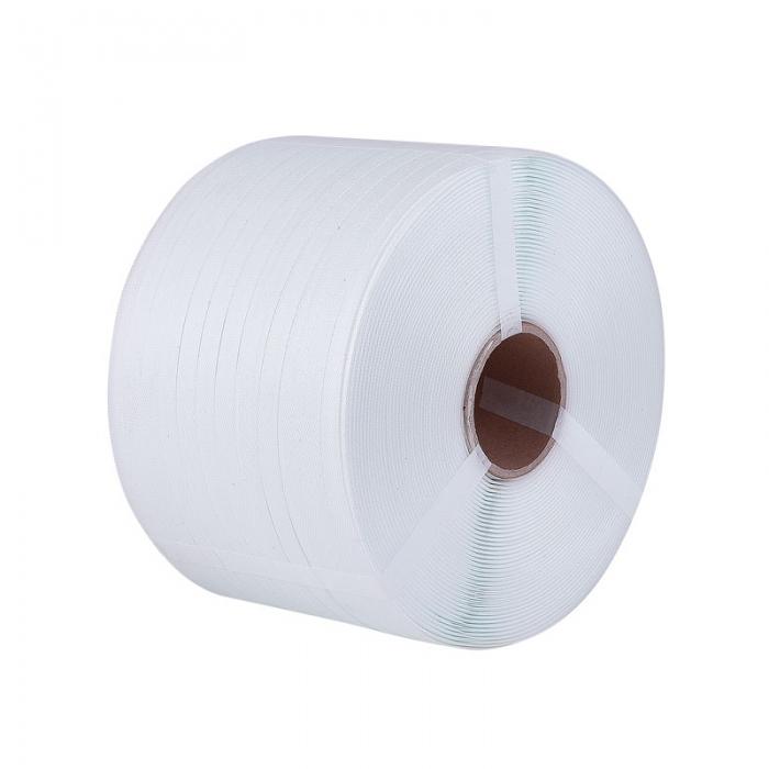 Reggia in Polipropilene PP Colore Bianco mm. 12x0,6 mt. 3000