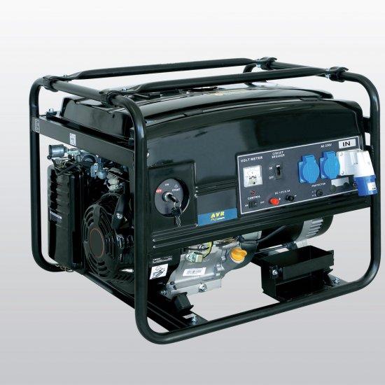Generatore Elettrico A Benzina Lw 6500 Z Kw 55 Automatico