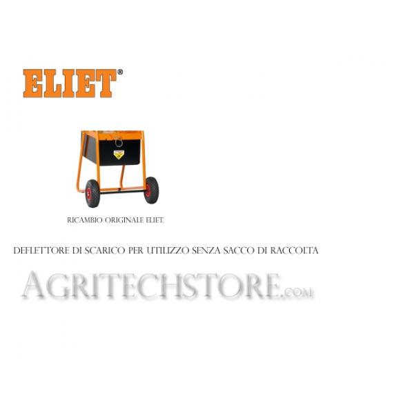 Deflettore di scarico per utilizzo senza cesco x Eliet Maestro