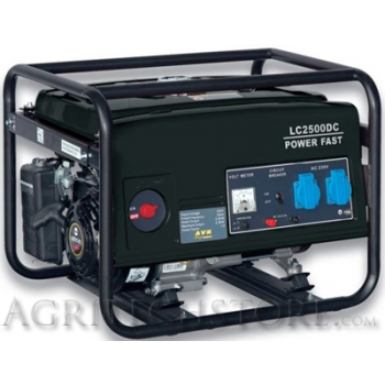 Generatore elettrico a benzina LC 2500 DC * 2,2 KW