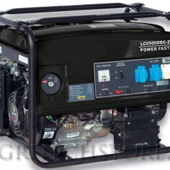 Generatore Elettrico A Benzina Lw 6500 T Kw 55