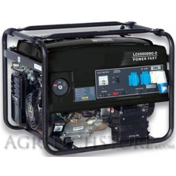 Generatore elettrico a Benzina LC 6500 DDC_3 * 5,5 Kw