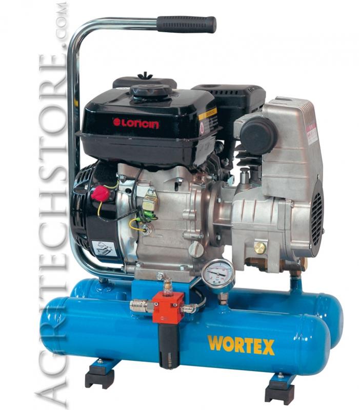 Motocompressore portatile Wortex Mini 08/260 * 8 Lt.