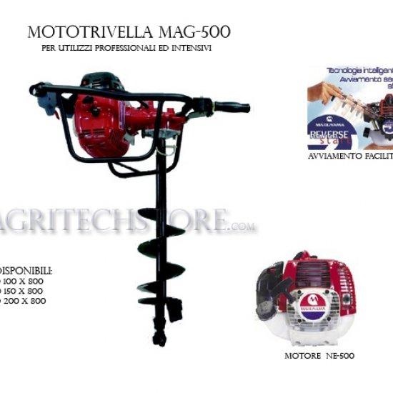 Miglior prezzo MOTOTRIVELLA MARUYAMA MAG500RS