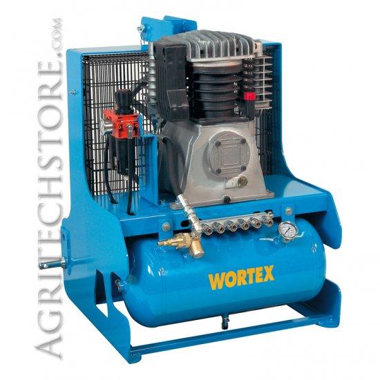 Compressore Trattore Attacco A 3 Punti Tractor 1200 Ltm 25 Lt