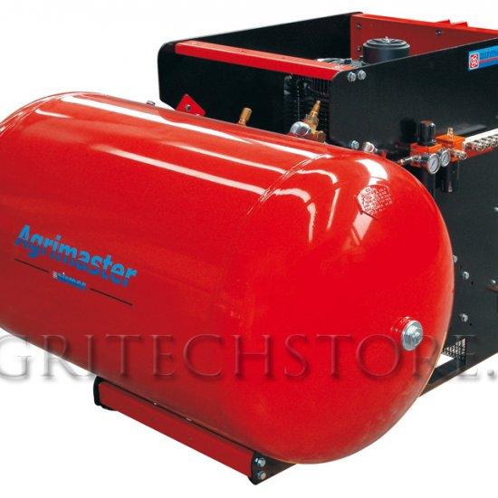 Compressore Trattore Attacco 3 Punti Agrimaster 1000 Ltm 650 Litri