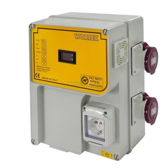 Alimentatore Stabilizzatore V230 2x12 Volt Stabilizzata