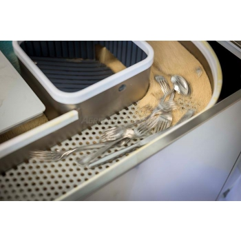 Asciugatore automatico per posate AS MP 3000 pezzi