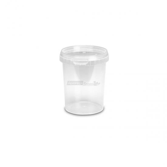 Offerte pazze Comparatore prezzi  Barattoli In Plastica Mu500 Lt 0520 Conici Trasparenti Con Coperchi  il miglior prezzo