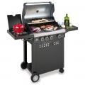 Barbecue Kemper a 4 fuochi San Francisco 90643TR