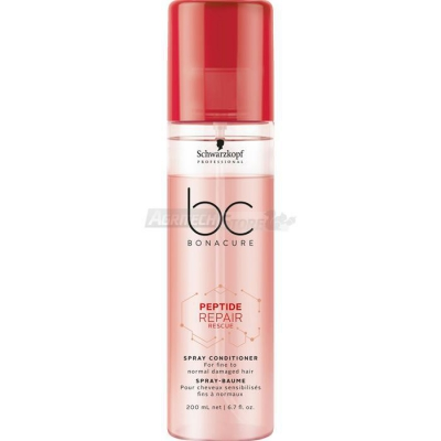 Schwarzkopf BC Peptide Repair Rescue - Spray Conditioner 200 ml