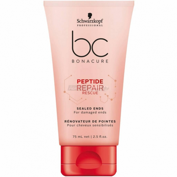 Schwarzkopf BC Peptide Repair Rescue - Sealed Ends - 75ml