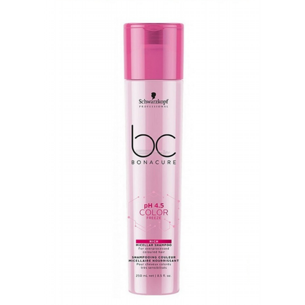 Schwarzkopf BC pH 4.5 Color Freeze - Rich Shampoo