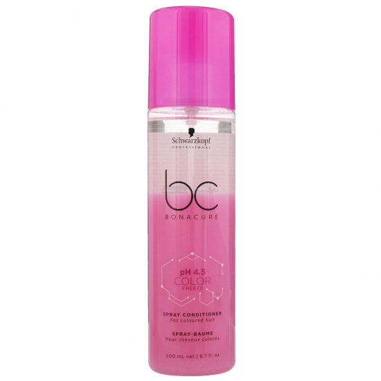 Schwarzkopf Bc Ph 45 Color Freeze Spray Conditioner 200 Ml