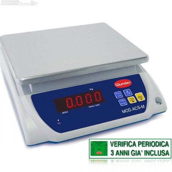 Bilancia Da Tavolo Certificata Multiuso Portata 153 Kg
