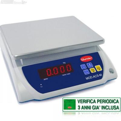 """Bilancia da Tavolo """"Certificata"""" Multiuso Portata 1,5/3 Kg"""