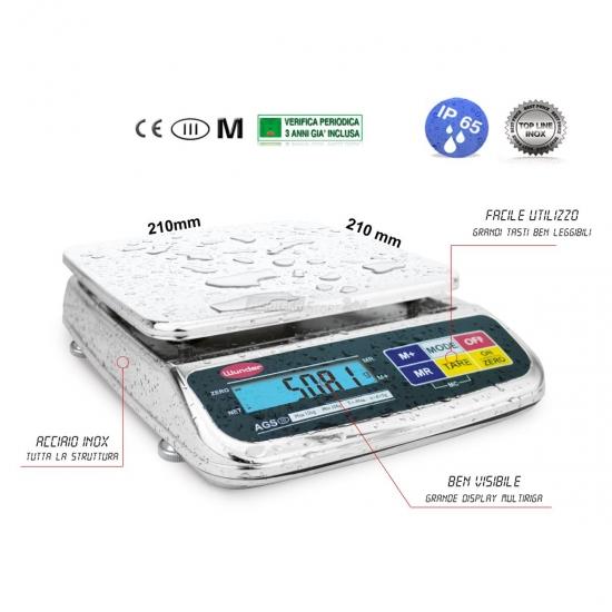 Offerte pazze Comparatore prezzi  Bilancia Da Tavolo Multiuso Portata 3 Kg Ip65  il miglior prezzo