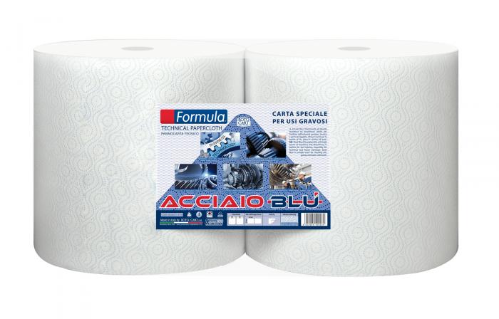 Bobina Acciaio Blu - Pannocarta speciale usi gravosi