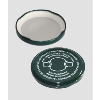 Capsule di Chiusura Twist Off 70mm con clip sicurezza