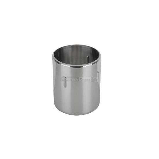 Carapina Tube Antirotazionale Per Gelateria In Acciaio Inox Ø 200 H 2