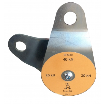 Carrucola BFM-40 P=4000 Kg D.12-95 fianchi scorrevoli