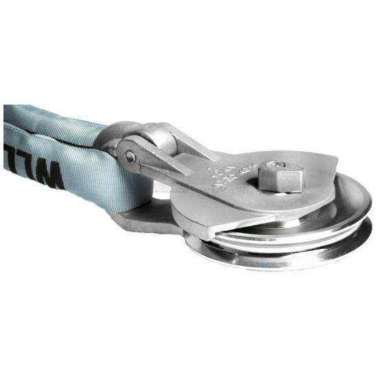 Carrucola Forcella Alluminio P2000 Kg Ø 8 80