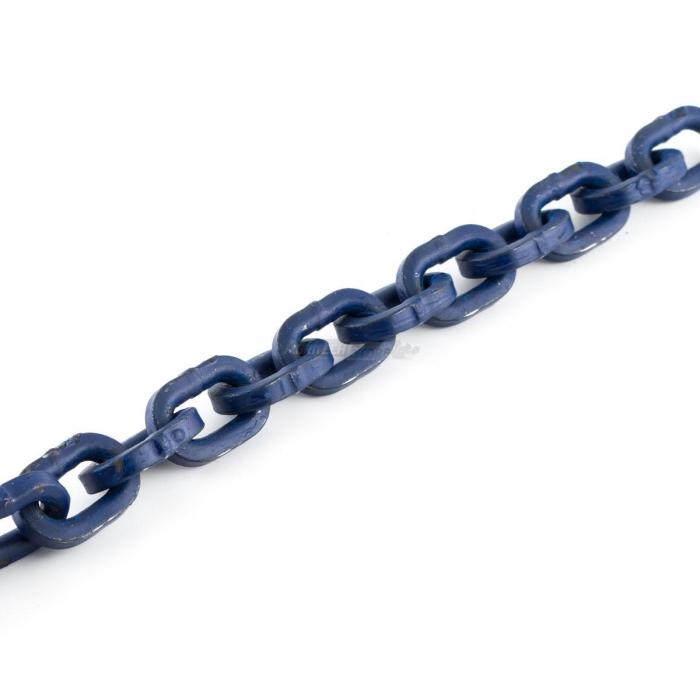 Catena maglia quadra GR100 8MM blu