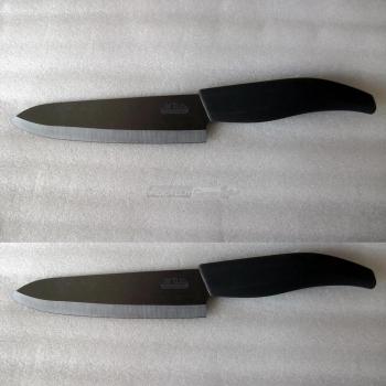 Coltello da tavola set 2 coltelli in ceramica giapponese for Coltelli da tavola opinel