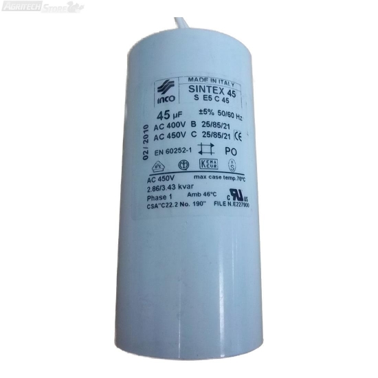 Condensatore Per Motore Hp 150