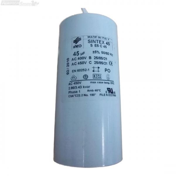 Condensatore per Motore HP 1,50